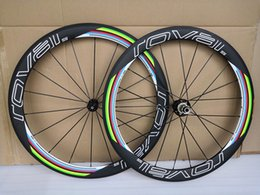Chinese  ROVAL 23mm width full carbon fiber road bike wheels carbon wheelset 700c rims carbon bicycle wheels clincher 50mm powerway R36 hubs manufacturers