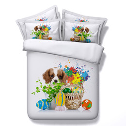 horse duvet covers NZ - 3D Christmas Duvet Cover Animal Bedding Sets Dog lion Bedspreads Holiday Quilt Covers Bed Linen Pillow Covers elephant horse tiger