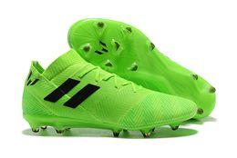 b53de92178587 ... Nuevo Nemeziz 17+ 360 Agility FG Calzado de fútbol para hombres Suelo firme  Nemeziz Messi 18.3 Botas de fútbol Calzado de fútbol para exteriores Botines