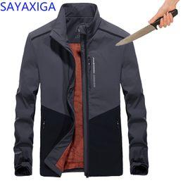 security men 2019 - 2018Self Defense Anti Cut Clothing Anti-stab Anti-Knife concealed Cut Resistant Men Jacket Security Soft anti-cut Fleece