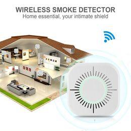 $enCountryForm.capitalKeyWord Australia - 433MHz Wireless Smoke Detector Independent Fire Alarm Sensor 360 Degrees Indoor Home Safety Garden Security Smoke Alarm