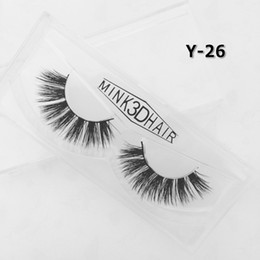 hand made products Australia - Natural Mink Fake Lashes Reusable Soft 3D Mink Eyelashes Private Label Accepted High Quality Low Price Product FDshine