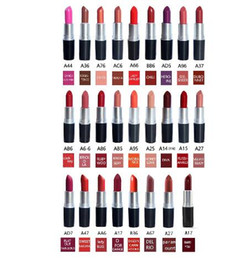 $enCountryForm.capitalKeyWord Australia - NEW best quality matte amplified Lipstick M Makeup velvet teddy Lipsticks honey love Matte Lipsticks 3g 26 colors lipstick with English Name