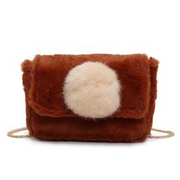 Women Small bag Autumn Winter Faux Fur Cross Body Bag for Teenage Girls Shoulder  Bags Ladies Bao Bao Handbags 7892f22e44d3e
