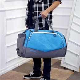NyloN sport tote bag online shopping - U A Travel Duffle Bag Fitness Gym Sports Hand Bag Tote Under Waterproof Nylon Shoulder Bags Large Capacity Luggage Bag Beach Packsack B71305