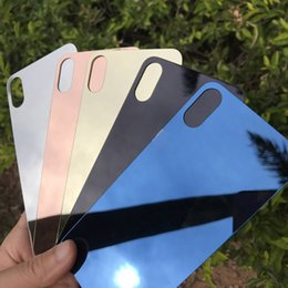 $enCountryForm.capitalKeyWord Australia - Latest For Iphone 7 plus tempered film Front+Back without logo hole Mirror Tempered Glass Screen Protector Color Plate Film NO LOGO