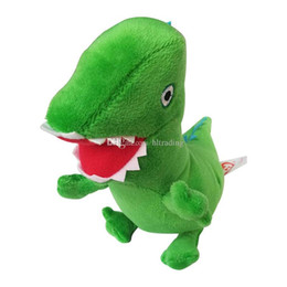 Dinosaur plush online shopping - Dinosaur plush toys new cartoon Stuffed Animals cm inches Dolls C4360