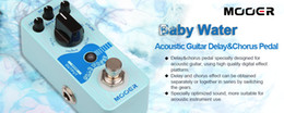 $enCountryForm.capitalKeyWord Australia - Mooer Baby Water Acoustic Delay Chorus Pedal Metal Shell True Bypass