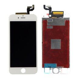 Vente en gros Pour iPhone 6S LCD Display 4.7 pouces Aucun Dead Pixel Noir Blanc Écran Tactile Digitizer Assemblée Téléphone Remplacement