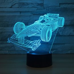 $enCountryForm.capitalKeyWord Canada - Formula Car 3D Optical Illusion Lamp Night Light DC 5V USB Powered 5th Battery Wholesale Dropshipping Free Shipping