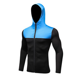 $enCountryForm.capitalKeyWord UK - Wholesale-LoRun Hooded Running Jackets for Men Hoodie Soccer Jerseys Gym Fitness Sport Tight Rashgard Long Sleeves T Shirt Man Warm Coat