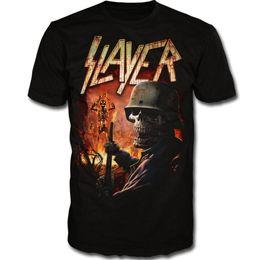$enCountryForm.capitalKeyWord NZ - T-Shirt Fashion Slayer Torch Shirt S M L XL Heavy Metal T-Shirt Official Black Band Tshirt New T-shirt Summer Tees