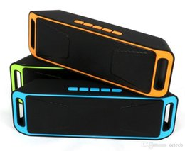 $enCountryForm.capitalKeyWord NZ - wholesale NEW SC-208 Mini Portable Bluetooth Speakers Wireless Smart Hands-free Speaker Big Power Subwoofer Support TF and USB FM Radio