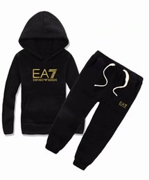 BaBy sets online shopping - 2018 Hot boy Kids Sets Kids Hoodie And Pant Children Sets Baby Boys Girls Spring and autumn Suit Baby Sport Suit Set coco