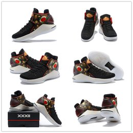 quality gold years 2019 - 2018 New China Blooming New Year 32 Flights Speed Westbrook Men's Basketball Shoes for High quality 32s XXXII Sport