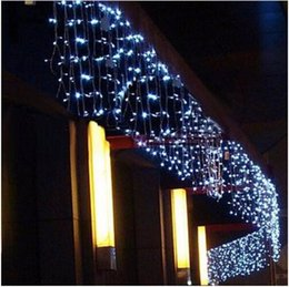 $enCountryForm.capitalKeyWord Australia - christmas lights outdoor decoration 3.5meter droop 0.3-0.5m led curtain icicle string lights new year wedding party garland light