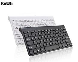$enCountryForm.capitalKeyWord Canada - KuWFi New Keyboard Ultra thin Quiet Small Size 78 Keys Mini Multimedia USB Keyboard For Laptop PC Macbook