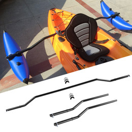 Wholesale 1 Pair Kayak Outrigger Sidekick Arms Canoe Boat Fishing Stablizer System Rack Mount Canoe Kayak Inflatable Stabilizing System
