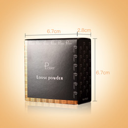 More powder online shopping - New released Pudaier Colors Loose Powder Crystal Bronzing Powder More Breathable Fine Powder