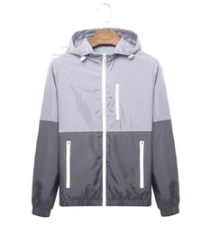 China fashion new long sleeve men jacket coat Autumn sports Outdoor plus size windrunner with zipper windcheater men clothing cheap wholesale army clothes suppliers