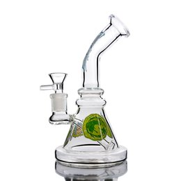 $enCountryForm.capitalKeyWord Australia - Art Work Cartoon Glass Bong Water Pipes With Bowl Banger Perclator Oil Rigs Recycler HOOKAHS Thick Glass Bongs With 14mm Joint Downstem Perc