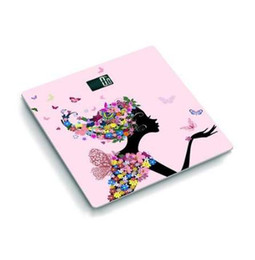 electronic butterflies UK - 070456 new design butterfly night vision backlit display health scale with temperature electronic weighing scales