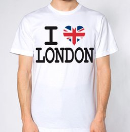 gifts british 2018 - I Love London New T-Shirt UK United Kingdom Top Britain Tee British England LDN Funny free shipping Unisex Casual tshirt