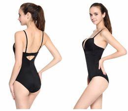 3bc630607f Lover Beauty Women U Plunge Body Suit Backless Body Briefer Full Body  Shaper Waist Shaper Slimming Waist Trianer Bodysuit-D5