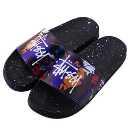 $enCountryForm.capitalKeyWord NZ - Designer Slippers New Brand Letters Desinger Slides Mens Flip Flops Summer Fashion stus women shoes