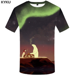 ee86c4d69 KYKU Bear T-shirt Men Animal T Shirt Blood 3d Printed Tshirt Gothic Anime  Clothes Hip Hop Tee Streetwear Mens Clothing Summer