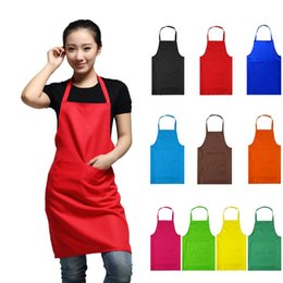hot home dress 2019 - WITUSE AE 2018 NEW HOT Fashion Lady Women Apron Home House Kitchen Chef Butcher Restaurant Cooking Baking Dress 45 cheap