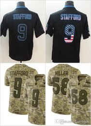 9 Matthew Stafford Detroit Jerseys Lions 2018 USA Flag Fashion Impact  Lights out Black Color Rush Drift Camo Salute to Service Olive Limited 0bb3e4dd3