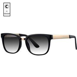 super black sunglasses men 2019 - COLECAO Square Sunglasses Women Brand Designer Super Vintage Retro 2018 High Quality Women's Sun Glasses For Female 1042