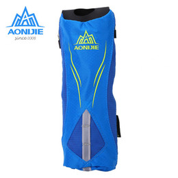 Wholesale AONIJIE Outdoor Sports Running Handheld Bag Hydration Pack Soft Kettle Holder Bag Kettle Pouch Drink Water Run