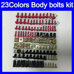Rs 125 abs faiRing kit online shopping - Fairing bolts full screw kit For KTM Duke R Duke Duke Super DukeR DUKE Body Nuts screws nut bolt kit Colors