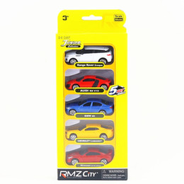 $enCountryForm.capitalKeyWord NZ - RMZ City 1:64 Scale Diecast Educational Model Audi Chevrolet n Super Sport Toy Car Set Collection Gift For Children Small