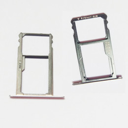 $enCountryForm.capitalKeyWord NZ - High Quality Sim Card Tray Holder Slot For Huawei Honor 7 Sim Card Reader Replacement Parts