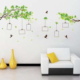 $enCountryForm.capitalKeyWord Canada - Forest of memories tree Photo Frame Wall Stickers Living room Bedroom home decoration Mural Art Decals bird sticker wallpaper