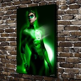 $enCountryForm.capitalKeyWord NZ - Green lantern,1 Pieces Home Decor HD Printed Modern Art Painting on Canvas (Unframed Framed)