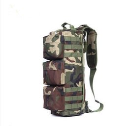 Travel fan online shopping - New camouflage assault bag special forces army fan tactical backpack outdoor shoulder mountaineering bag travel bag