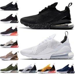 sale retailer 7c729 295ef 2018 Hommes Femmes Amant Flair Triple Noir 270 AH8050 270C Entraîneur Sport  Chaussures De Course Air Sneakers Taille 36-45