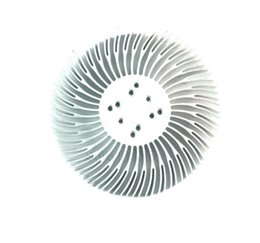 $enCountryForm.capitalKeyWord UK - 2PCS 3 5 10W high power sunflower circular cooling fin LED aluminium radiator 90*25.4mm with screw for 1-10 w led cool