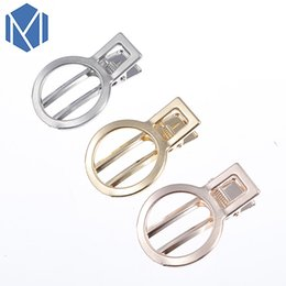 Gold Pink Rings For Women Australia - M MISM New Fashion Metal Hair Clips For Women Gold Silver Pink Ring-Pull Prendedor De Cabelo Girls Cute Spinki Dla Dziewczynek