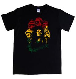 b89bb16c2 BOB MARLEY WAILERS S - 5XL camiseta rasta flag para mujer / para hombre  LADIES KIDS reggae jamaica camiseta Fashiont Shirt Envío gratis