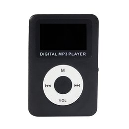 China Advanced 2017 New Portable MP3 4 Colours USB Digital MP3 Player LCD Screen Support 32GB Micro SD Card Drop Shipping cheap digital mp3 player lcd suppliers