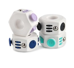 China Magic Fidget Cube 6-Side Fidget Ring Anxiety Stress Relief Toy Adult Kids suppliers