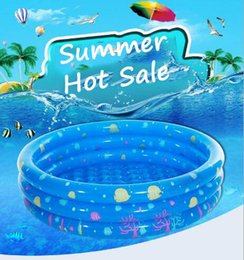 $enCountryForm.capitalKeyWord NZ - Summer Hot Sale Product High Quality Circle Colorful PVC Inflatable Water Toy Swimming Pool for Kids