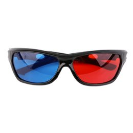 $enCountryForm.capitalKeyWord Australia - 2016 Black Frame Universal 3D Plastic glasses Oculos Red Blue Cyan 3D glass Anaglyph Movie Game DVD vision cinema Wholesale