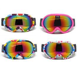 $enCountryForm.capitalKeyWord Australia - Children Outdoor Sports gear Snow Goggles Windproof tow layer anti-fog Boy or Girl Skiing Eyewear Snowboarding Glasses and Box