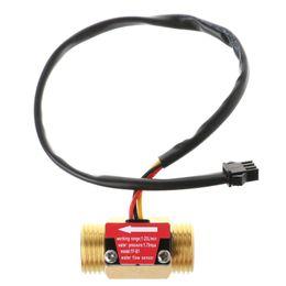 Flowmeter Sensor Canada - Flow Sensor G1 2'' Water Flow Hall Sensor Switch 1-25L min Meter Flowmeter #0615